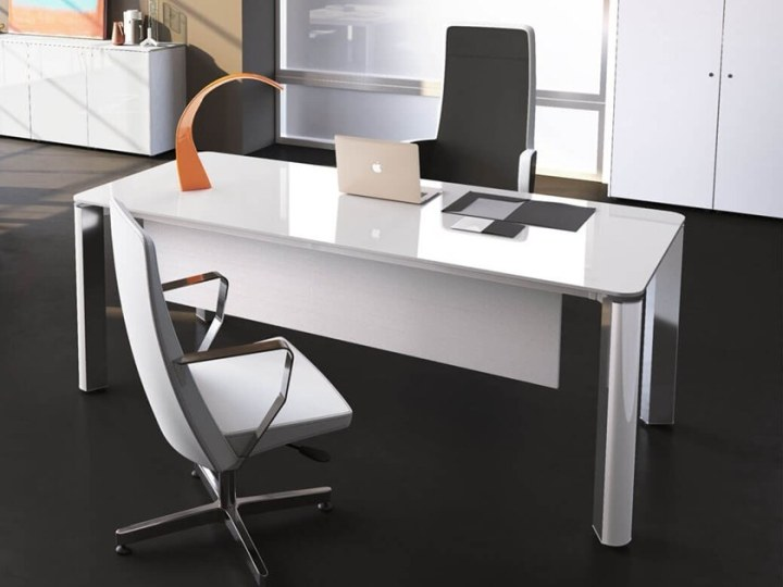IULIO HG   L shaped office desk By Las Mobili