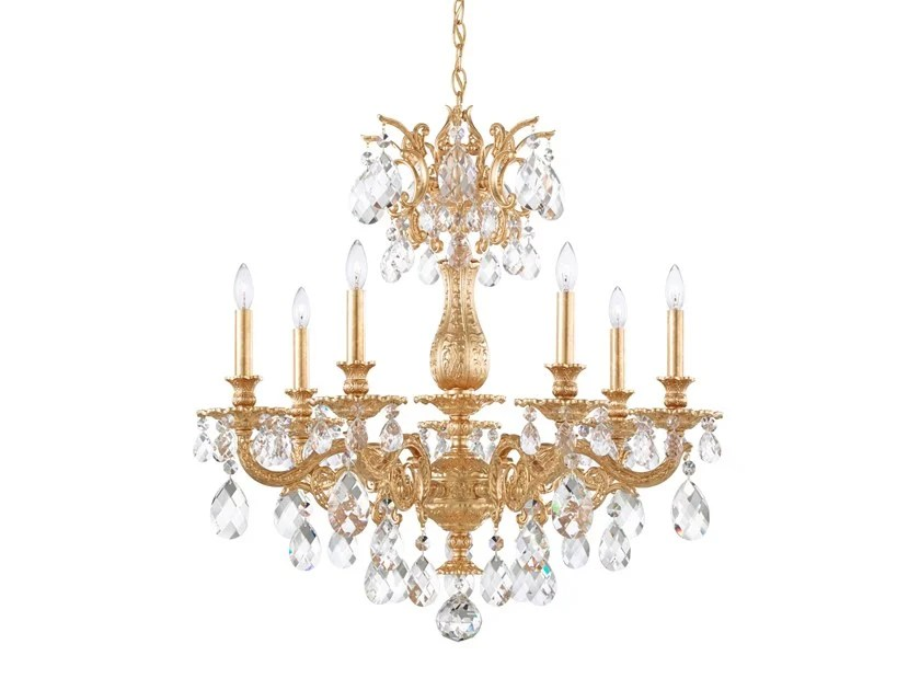 chandelier milano collection by schonbek