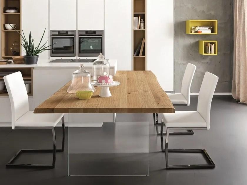table snack de cuisine rectangulaire en