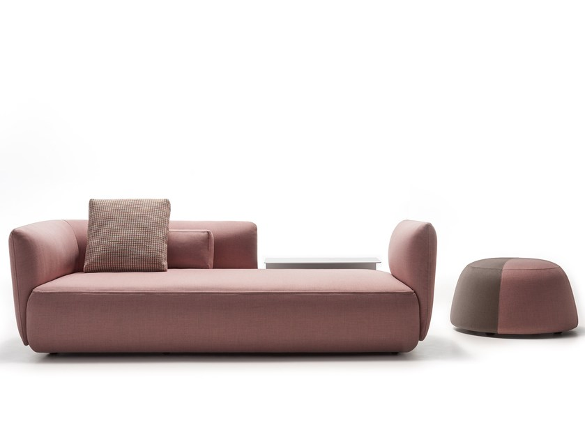 upholstered sofa cosy fabric sofa by mdf italia