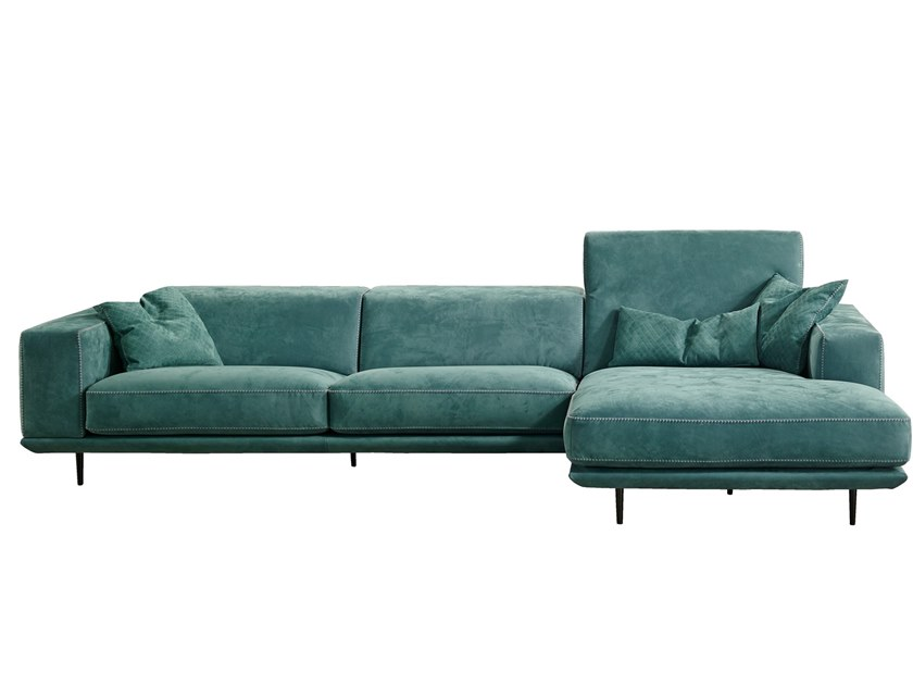 sectional leather sofa denny gamma