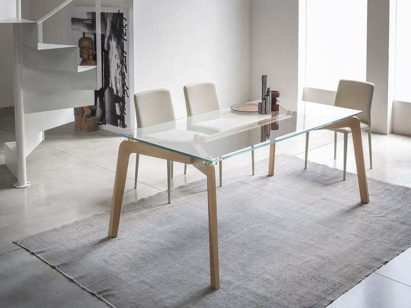 Rectangular Table By RIFLESSI Design Egidio Panzera