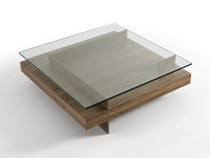Ketel Wood Veneer Coffee Table By Kendo Mobiliario Design Vicente Gallega Garcia