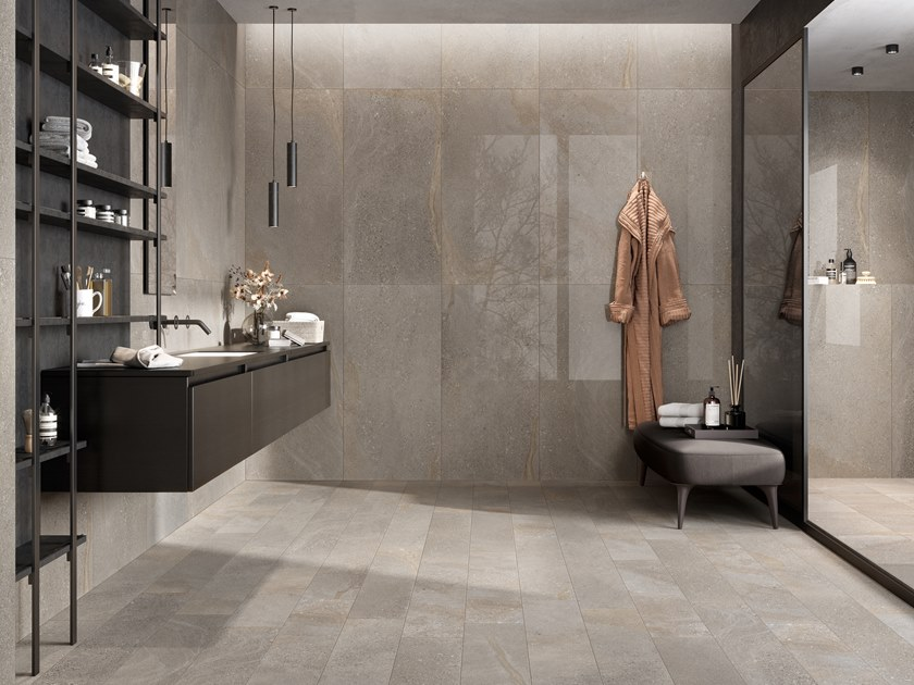 wall floor tiles with stone effect