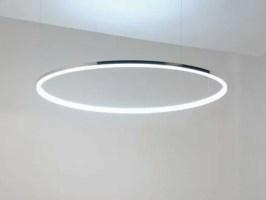 LED aluminium pendant lamp CIRCOLO MINI By Sattler