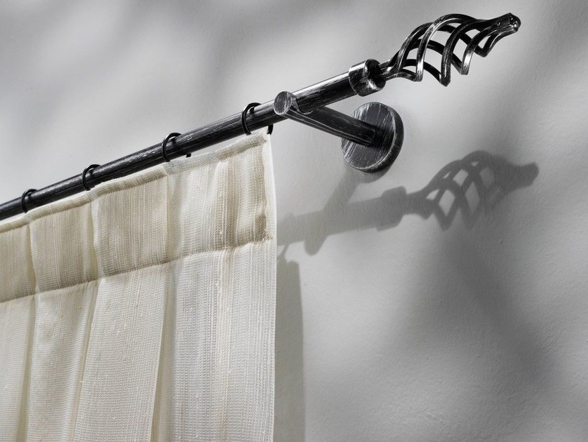 classic style wrought iron curtain rod