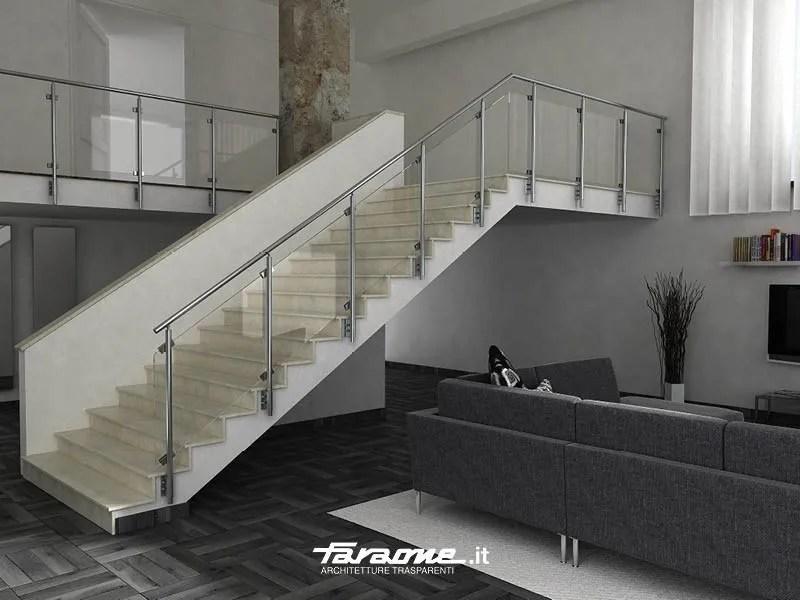 Aluminium Stair Railing Sky B By Faraone   Aluminium Railing For Stairs   Hand   House   Indoor   Staircase   3 Foot
