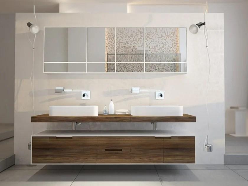 Slim Line Doppel Waschtischunterschrank By Moma Design