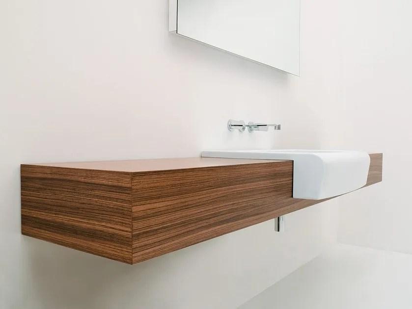 UNA Mobile Lavabo Linea Una By CERAMICA FLAMINIA Design