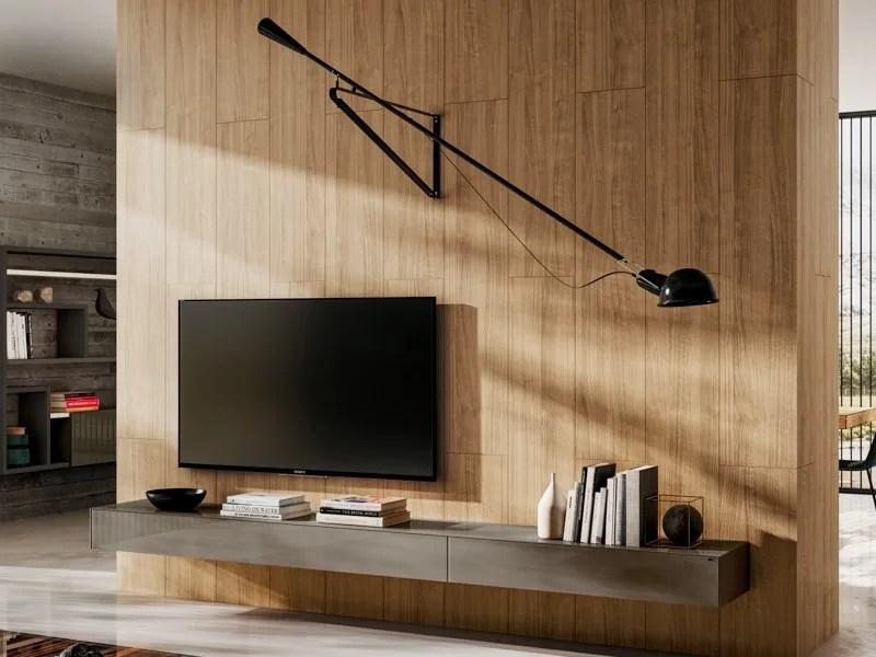 Materia Wall Mounted Tv Cabinet Materia Collection By Lago Design Daniele Lago