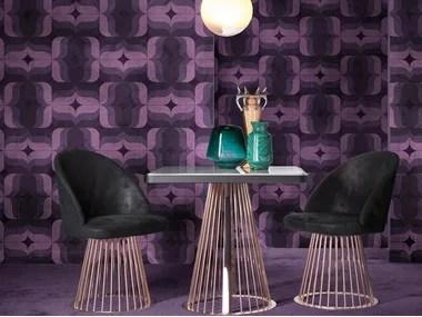 carta da parati geometrica anni 70 30332. 70s Style Fabric Wallpapers Archiproducts