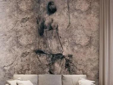 La tua stanza con la carta da parati tridimensionale! Washable Vinyl Wallpaper Mongolfiere Luxury Collection By Carta Da Parati Artistica Design Simone Solinas