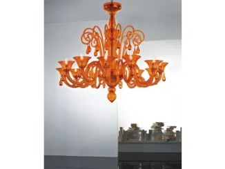 Nube 12l Murano Glass Chandelier