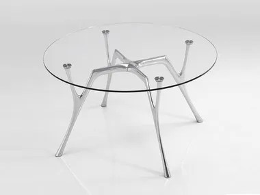 glass and steel tables archiproducts