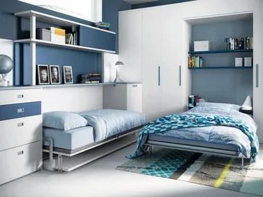 Promo sconto fino al 20 settembre. Kids Bedroom Sets With Bridge Wardrobe Archiproducts