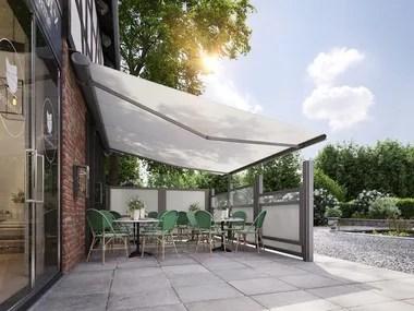 Acquista online direttamente dalla fabbrica la tenda da sole a caduta o a rullo verticale con tessuto. Tende Da Sole Scorrevoli Archiproducts
