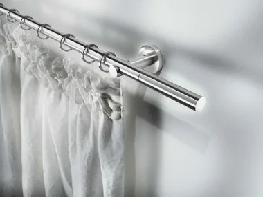 steel curtain rods archiproducts