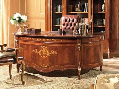 L'ufficio, o il proprio studio domestico, dev'essere quindi curato più di ogni altro ambiente e deve vantare mobili moderni e classici di grande qualità,. Scrivanie Per Ufficio Stile Classico Archiproducts