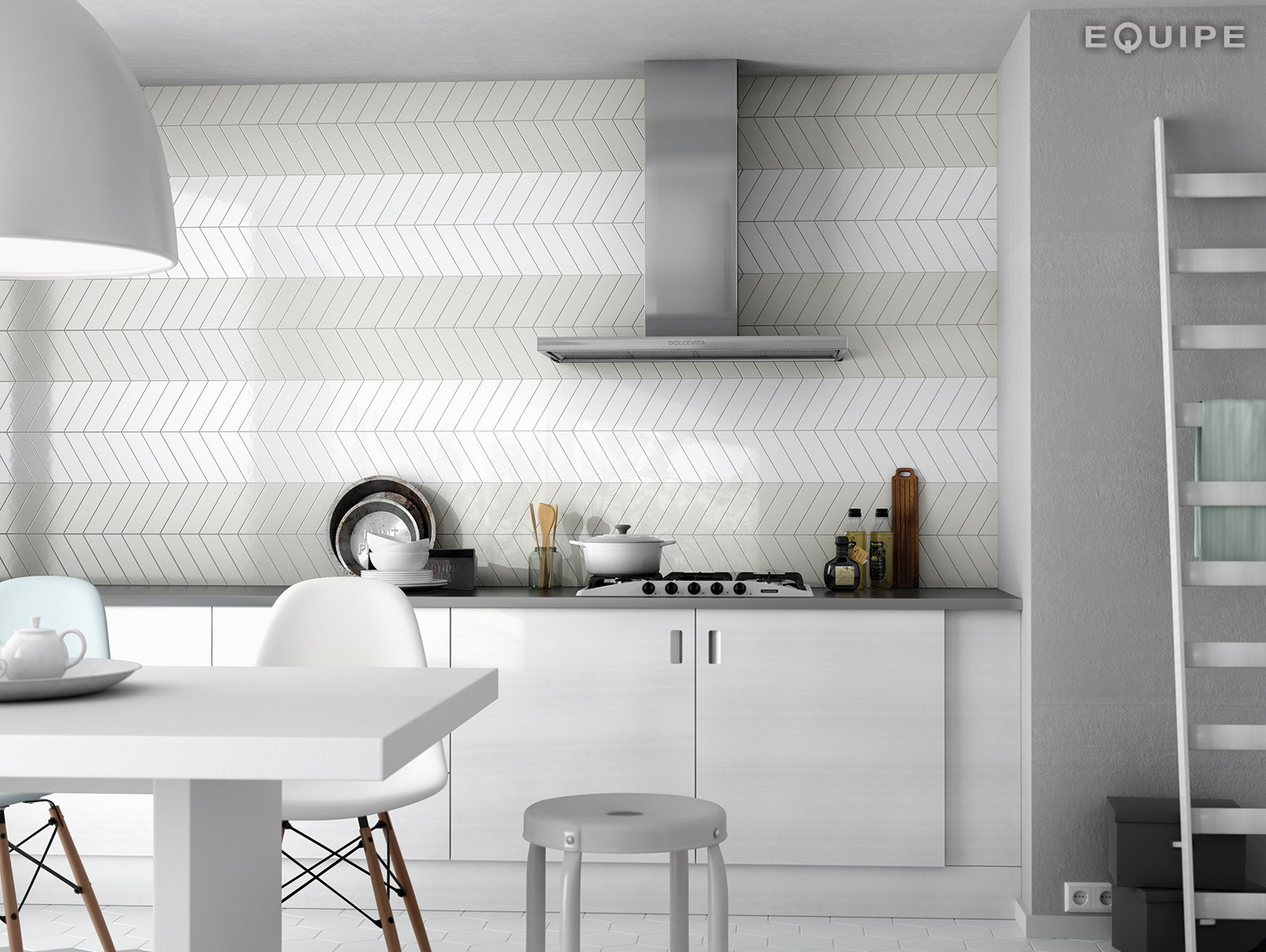 CHEVRON WALL By EQUIPE CERAMICAS