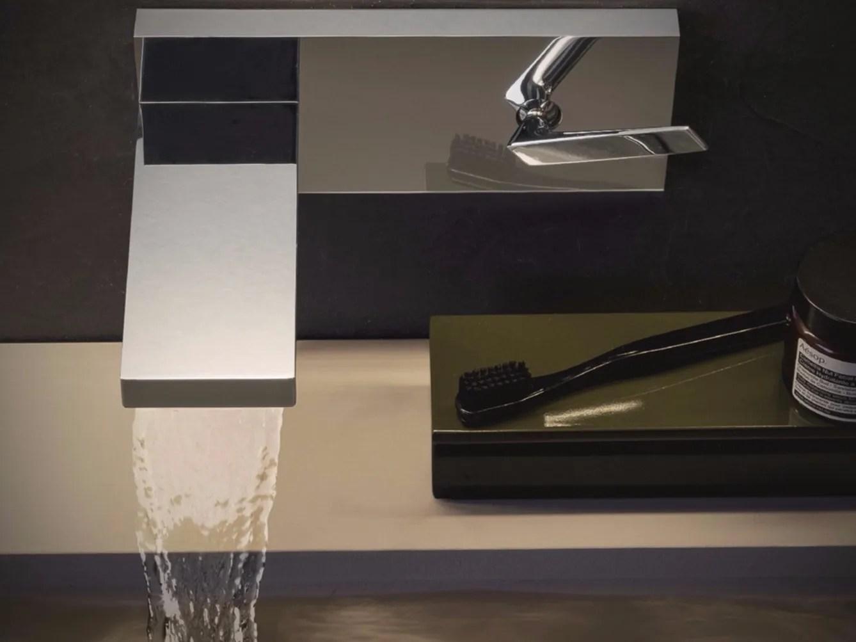 Him Wall Mounted Washbasin Mixer By Zucchetti Design