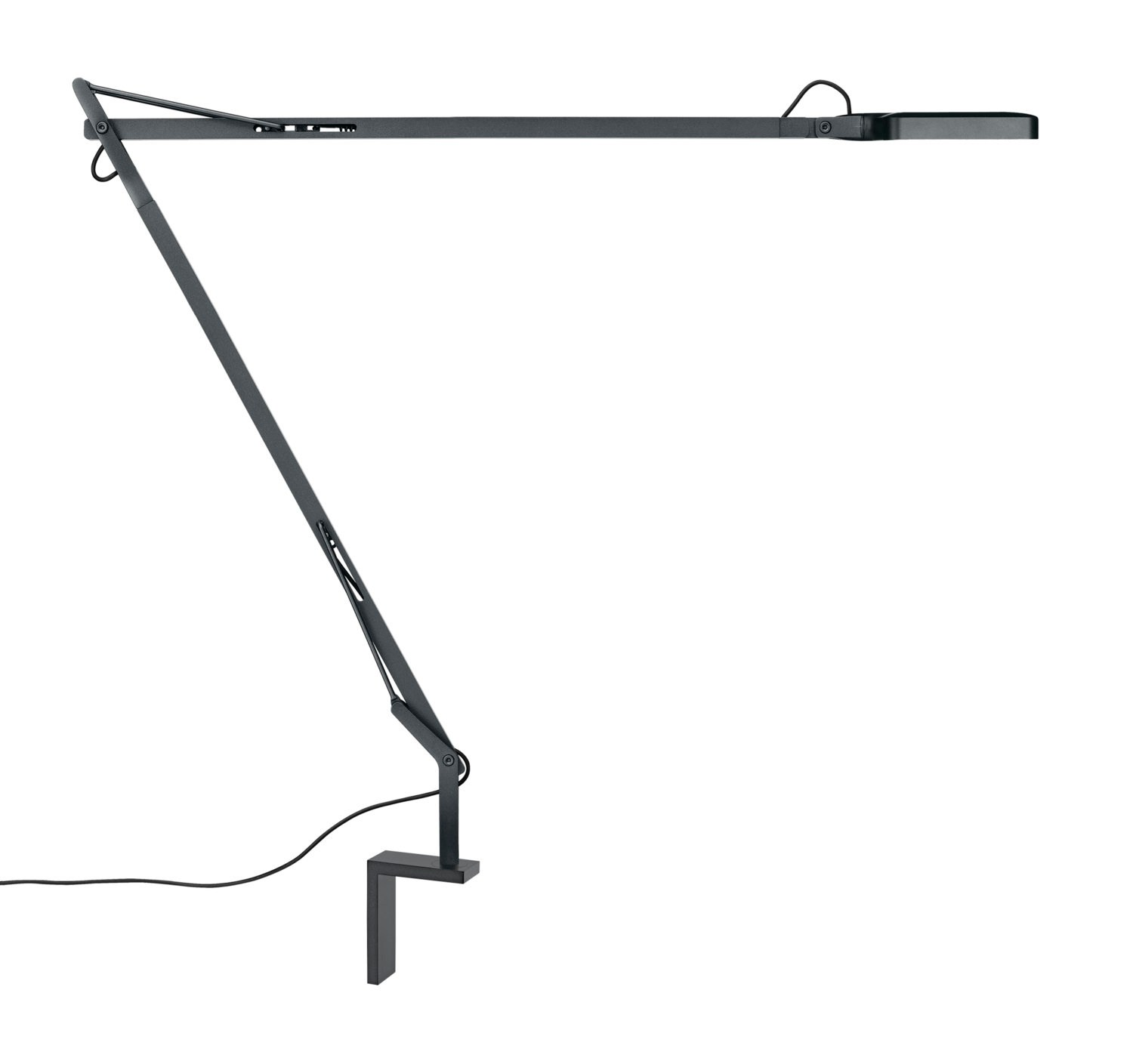 Direct Light With Swing Arm Table Lamp Kelvin Led By Flos