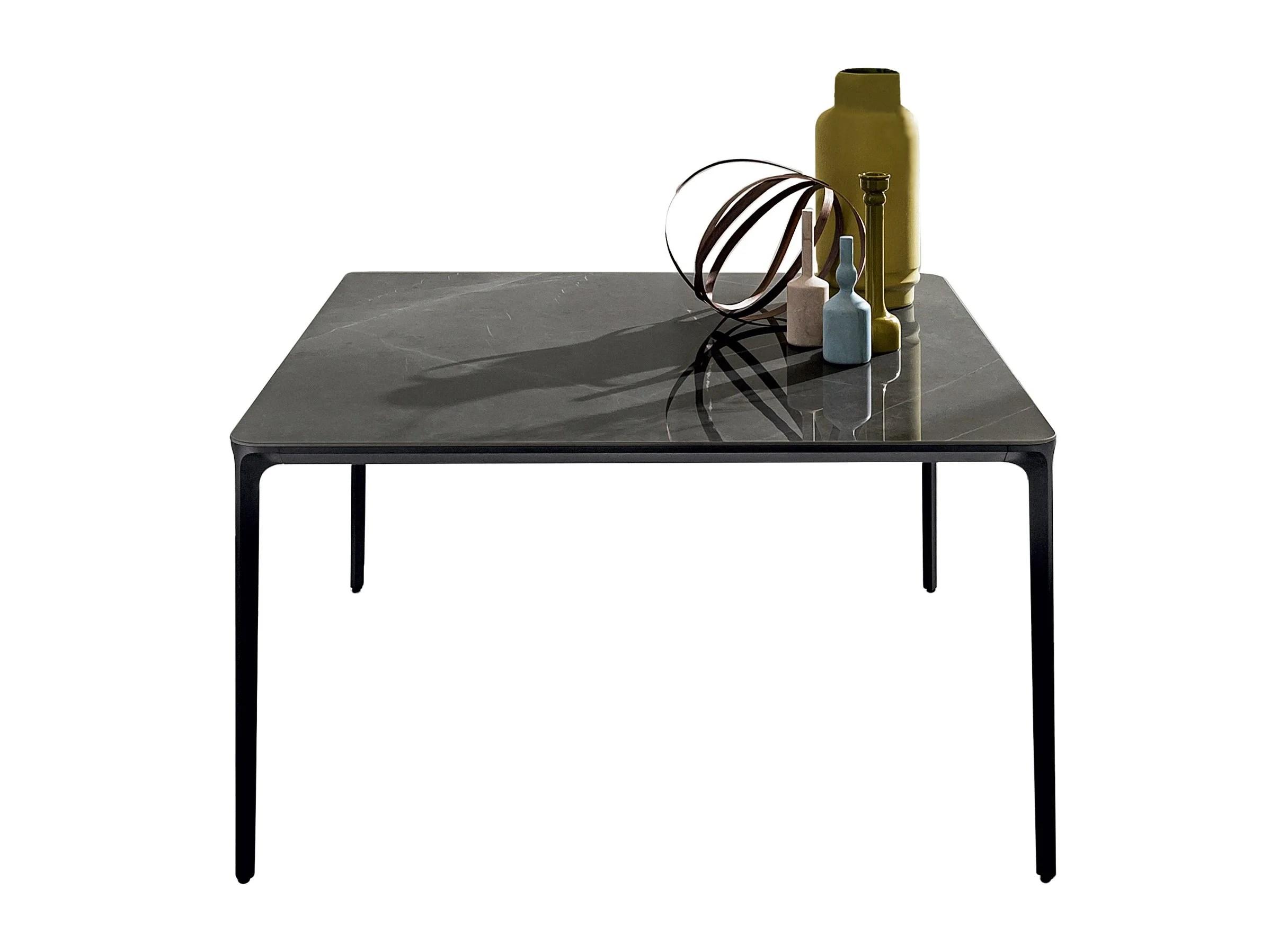 SLIM SQUARE Ceramic Table Domus