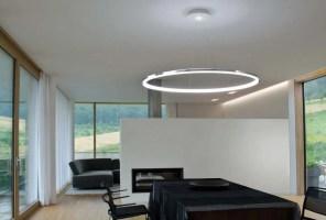 LED Pendelleuchte aus Aluminium CIRCOLO MINI by Sattler