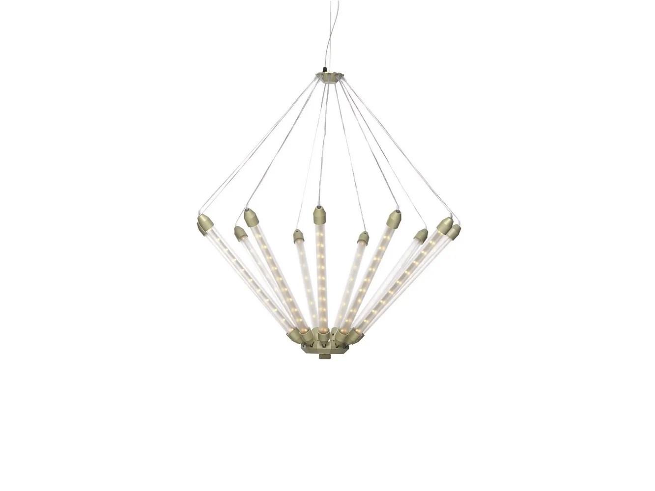 Led Direct Indirect Light Aluminium Pendant Lamp Kroon 11