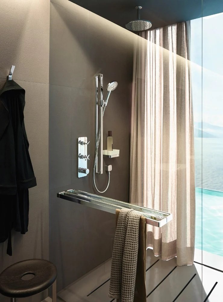 AXOR CITTERIO E Thermostatic Shower Mixer By HANSGROHE