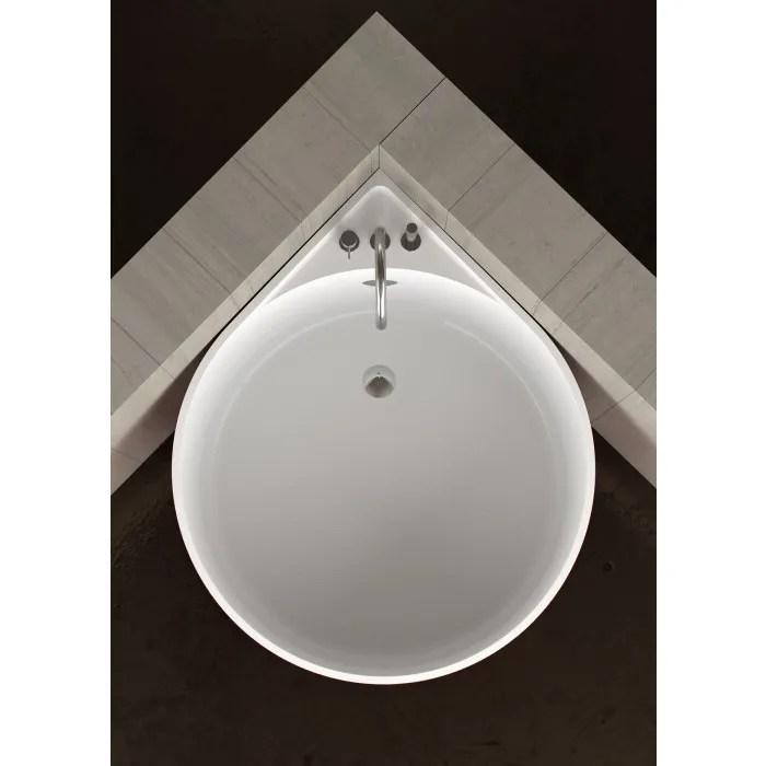 Baignoire Dangle Ronde MINI WHITE By Glass Design Design