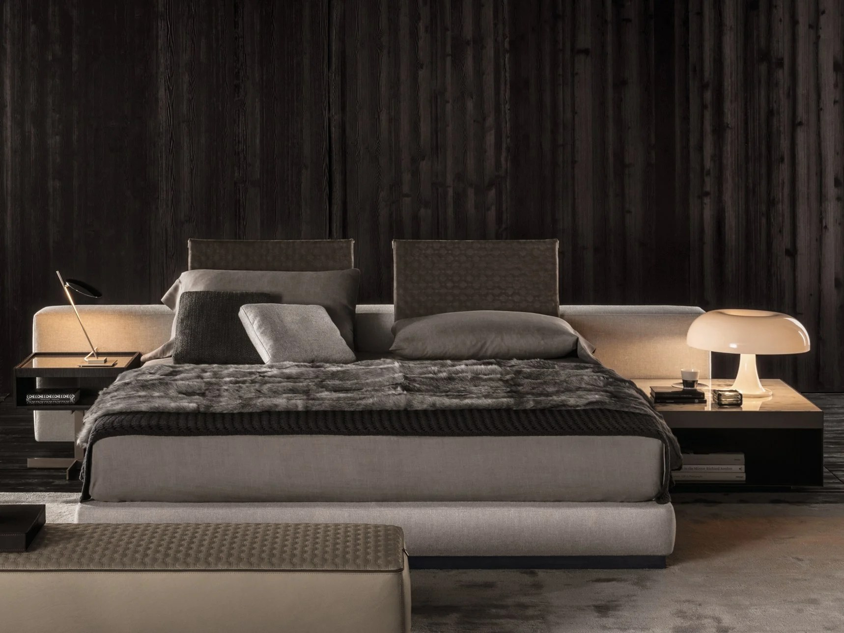 YANG BED By Minotti Design Rodolfo Dordoni