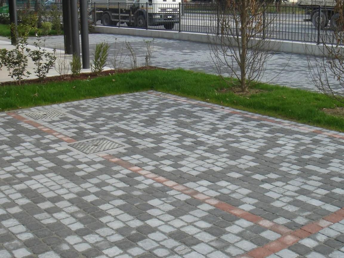 Pavimento Para Exteriores De Cimento Com Efeito De Pedra