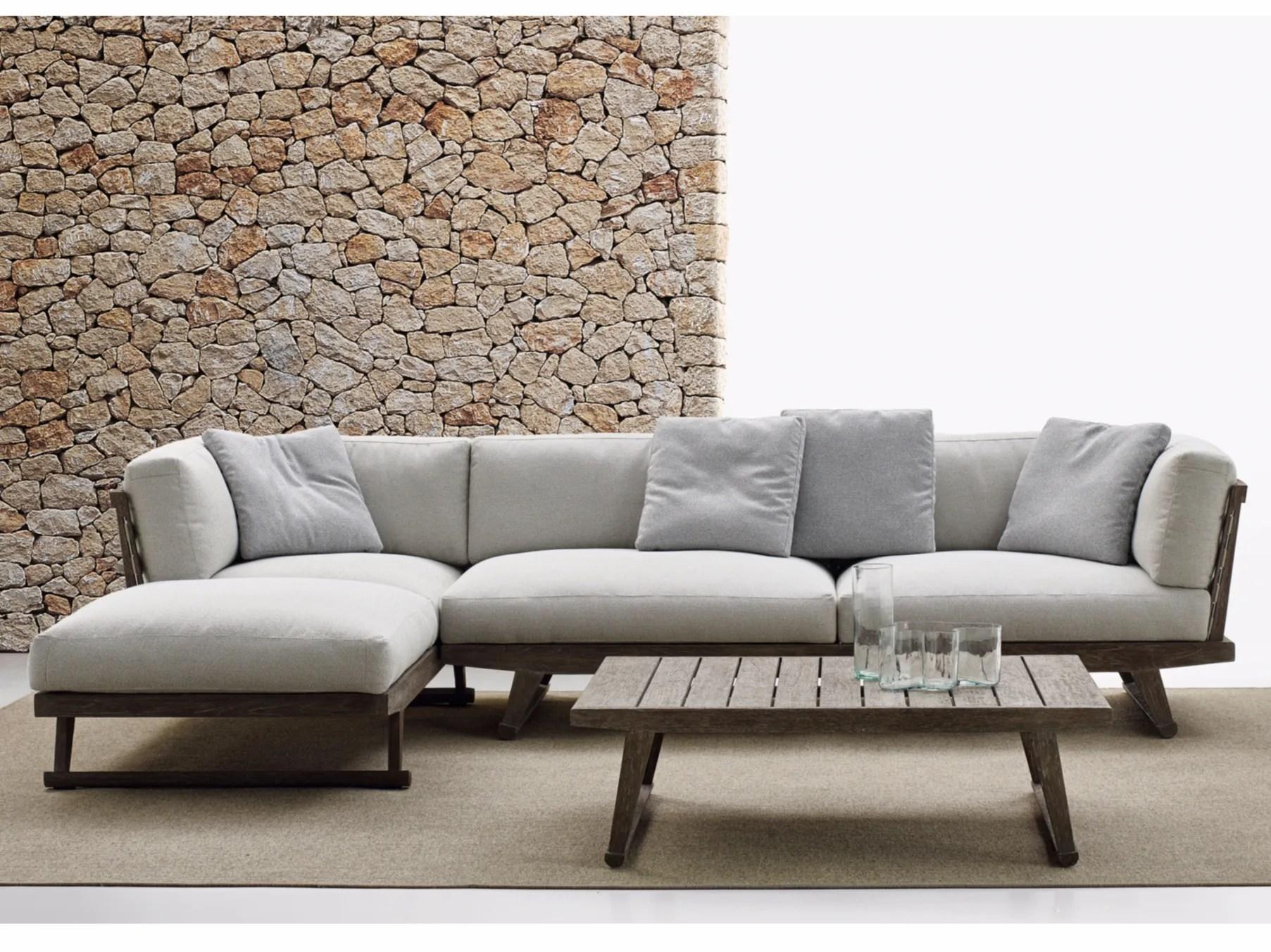 GIO Sofa With Chaise Longue Gio Collection By B&B Italia