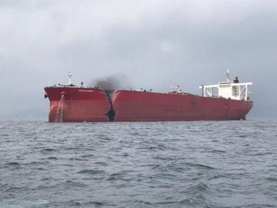 Image result for images damaged tankers