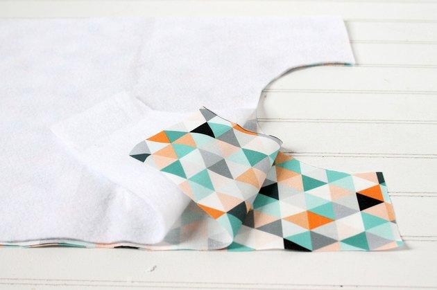 use as a pattern to cut semi circles