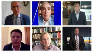 July 12, 2021 - Prominent European figures such as Italian Prime Minister Matteo Rentzi (2014-2016), MEP and Belgian Prime Minister Guy Verhofstadt (1999 – 2009), Enda Kenny, Irish Prime Minister (2011 - 2017), Carlo Cottarelli, Italian economist and form