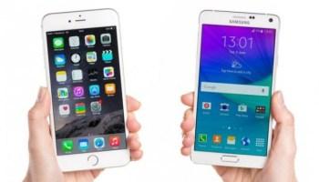 Samsung y Iphone