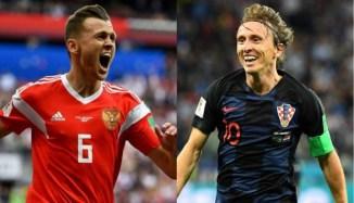 Resultado de imagen para Rusia vs Croacia