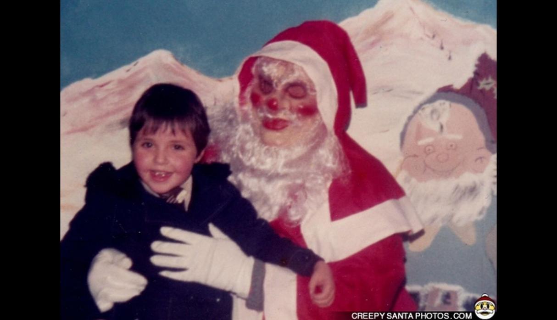 los Santa Claus más aterradores