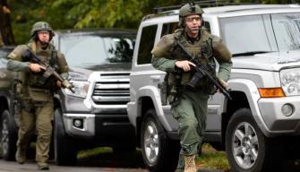 Tiroteo en Pittsburgh: 11 muertos por disparos en la sinagoga de Squirrel Hill   FOTOS