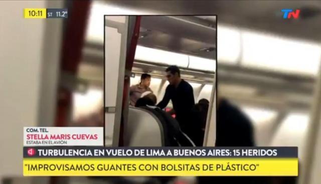 Avianca: Vuelo de Perú a Argentina reporta 15 heridos por fuertes turbulencias