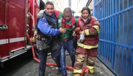 """Municipalidad de Lima: incendio en Mesa Redonda fue por """"negligencia"""" en un puesto"""