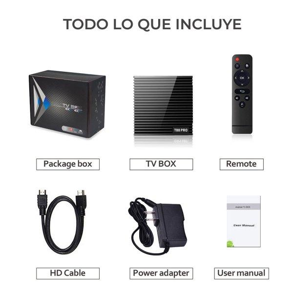 Smart Tv Box Andorid 7.1 4k HD 5G DDR3 2G 16G