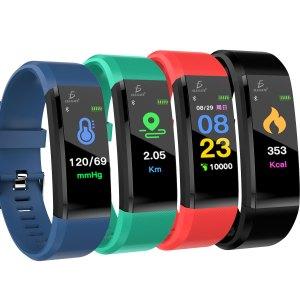 Smart Band Id115 Plus Reloj Pulsera Inteligente Sensor De Ritmo Cardíaco