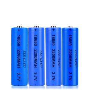 Bateria Recargable 18650 3.7V 2200mAh Para Lampara