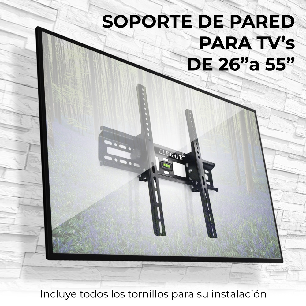Soporte Móvil Brazo Pantalla 22-55 Pulgadas Tv