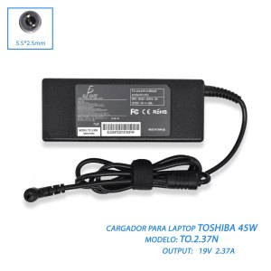 Cargador Laptop Compatible Toshiba Mini 19v 3.95a 5.5*2.5mm