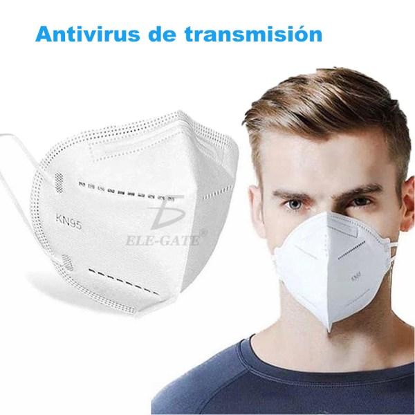 Cubrebocas N95 Válvula 5 Capas Filtro Respirador