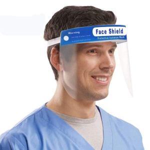 Careta Mascara Facial Transparente De Protección Antivirus Cubre Rostro