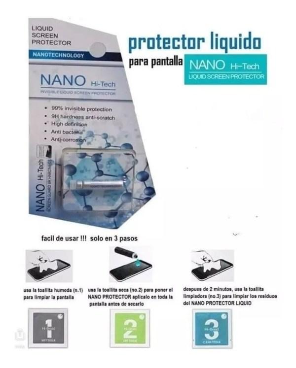 Mica Universa Nanotecnologia Glass Cristal Templado Liquido